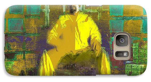 Galaxy Case featuring the digital art Hard Work by Brian Reaves
