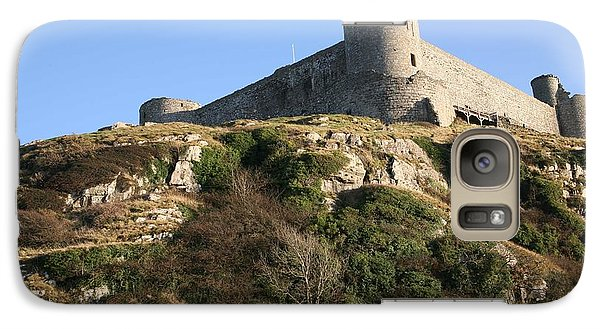 Galaxy Case featuring the photograph Harlech Castle by Christopher Rowlands