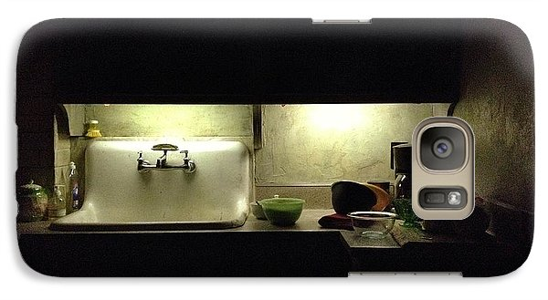 Harlem Sink Galaxy Case by H James Hoff
