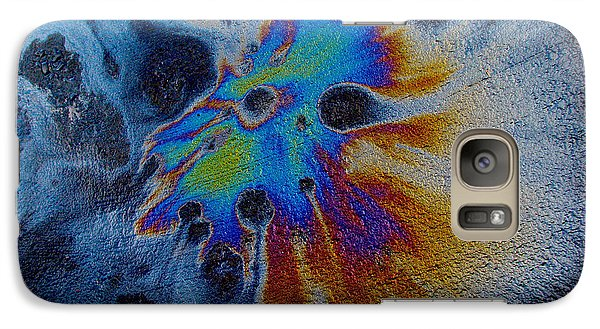 Galaxy Case featuring the photograph Harlequin Mask Expanded by Samuel Sheats