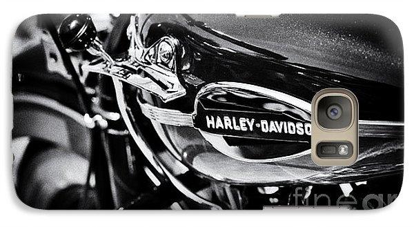 Harley Davidson Monochrome Galaxy S7 Case