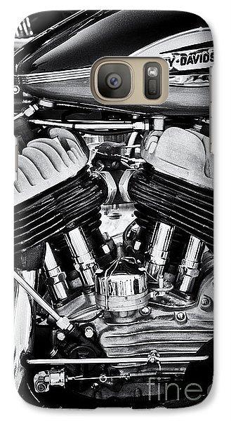 Harley Davidson Wla Monochrome Galaxy S7 Case