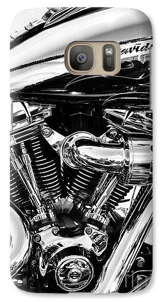 Harley Monochrome Galaxy S7 Case