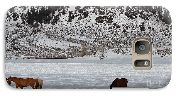 Galaxy Case featuring the photograph Harmony by Fiona Kennard