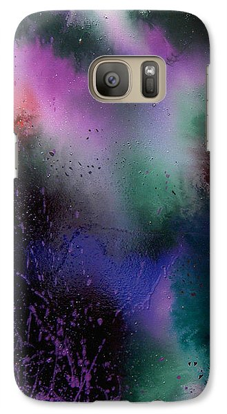 Galaxy Case featuring the painting Harmony by Min Zou