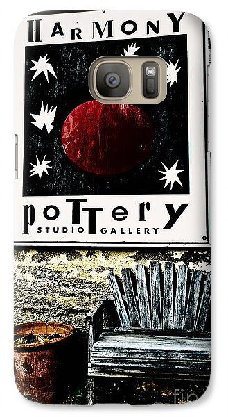 Galaxy Case featuring the photograph Harmony Pottery by Terry Garvin