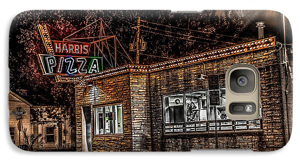 Galaxy Case featuring the photograph Harris Pizza #3 by Ray Congrove