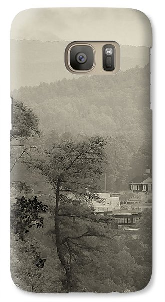 Galaxy Case featuring the photograph Harshaw Chapel by Margaret Palmer