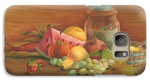 Galaxy Case featuring the painting Harvest Fruit by Doreta Y Boyd