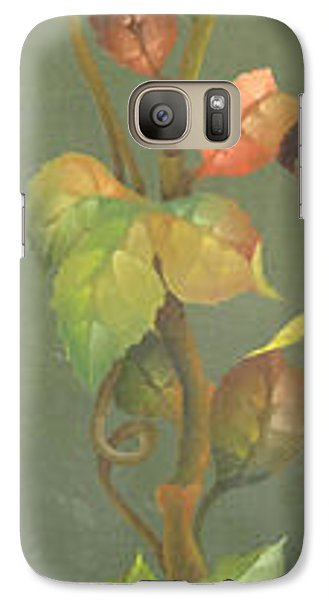 Galaxy Case featuring the painting Harvest Grapevine by Doreta Y Boyd