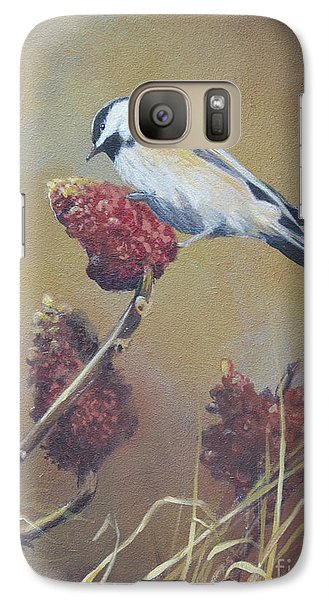 Galaxy Case featuring the painting Harvest  by Margit Sampogna