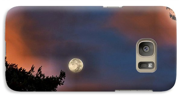 Galaxy Case featuring the photograph Harvest Moon by Julia Hassett