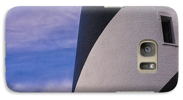 Galaxy Case featuring the photograph Hatteras Detail In Canvas by Terry Rowe