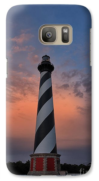 Hatteras Lighthouse Dawn Galaxy S7 Case