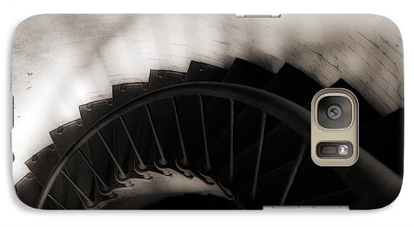 Galaxy Case featuring the photograph Hatteras Staircase by Angela DeFrias