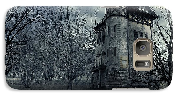 Haunted House Galaxy S7 Case by Jelena Jovanovic