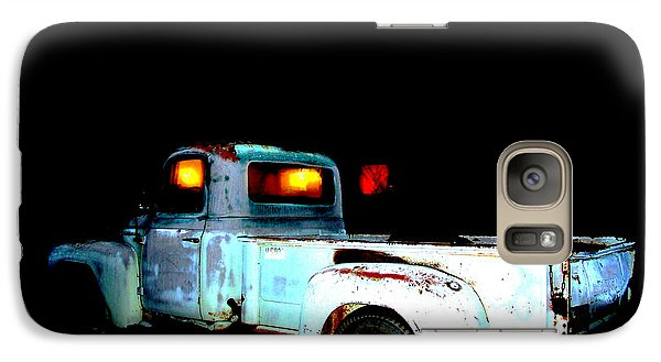 Galaxy Case featuring the digital art Haunted Truck by Cathy Anderson
