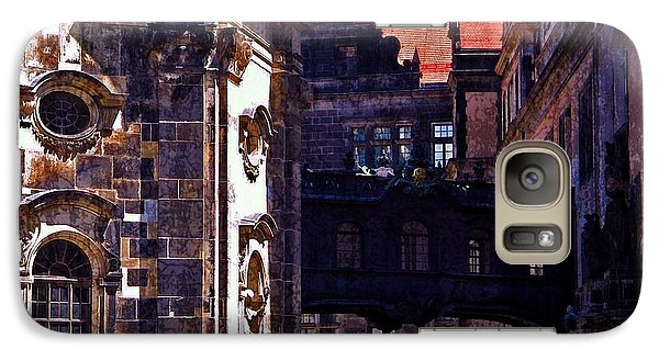 Galaxy Case featuring the photograph Hausmann Tower In Dresden Germany by Jordan Blackstone