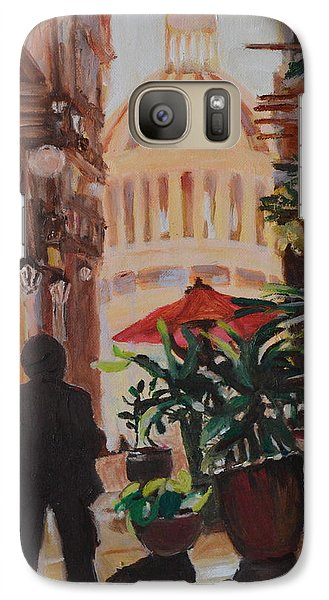 Galaxy Case featuring the painting Havana by Julie Todd-Cundiff