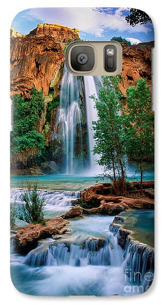 Havasu Cascades Galaxy S7 Case by Inge Johnsson