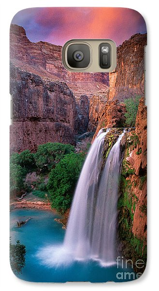 Havasu Falls Galaxy S7 Case by Inge Johnsson