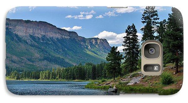 Galaxy Case featuring the photograph Haviland Lake by Janice Rae Pariza