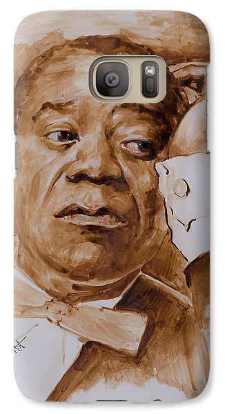 Galaxy Case featuring the painting Having A Break by Laur Iduc