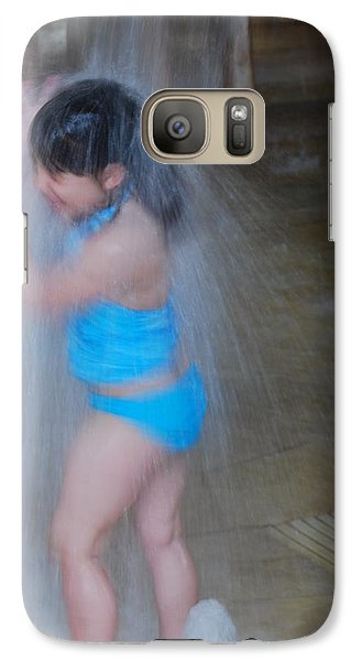 Galaxy Case featuring the photograph Having Fun by Ramona Whiteaker