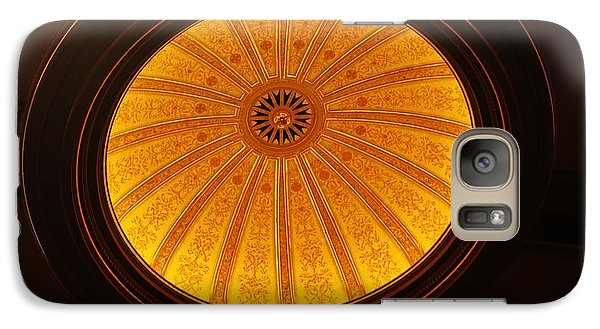 Galaxy Case featuring the photograph Hawaii Theatre Center Dome by Craig Wood