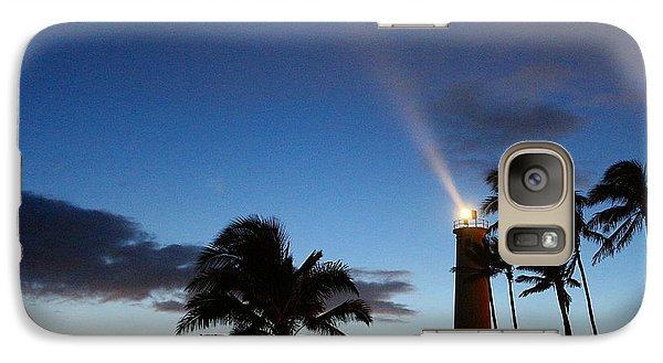Galaxy Case featuring the photograph Hawaiian Lighthouse by Greg Simmons