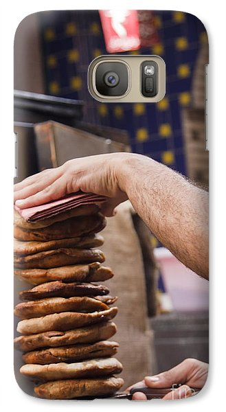 Galaxy Case featuring the photograph Hawawshi by Mohamed Elkhamisy
