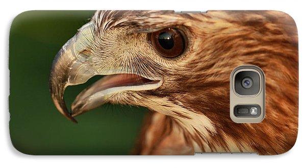 Hawk Eyes Galaxy Case by Dan Sproul