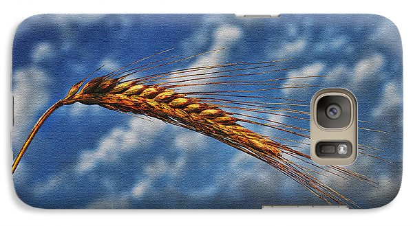Galaxy Case featuring the photograph Haymaker by Graham Hawcroft pixsellpix