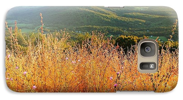 Galaxy Case featuring the photograph Hazy Day by Candice Trimble