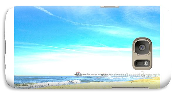 Galaxy Case featuring the photograph Hb Pier 7 by Margie Amberge