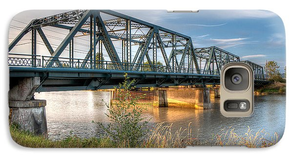 Galaxy Case featuring the photograph Hdr - Lincoln Ave. Bridge by Rob Green
