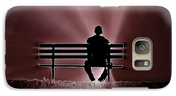 Galaxy Case featuring the photograph He Spoke Light Into The Darkness by Micki Findlay