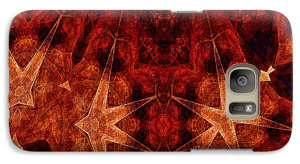 Galaxy Case featuring the digital art He Wears The Robe Of Stars by Owlspook
