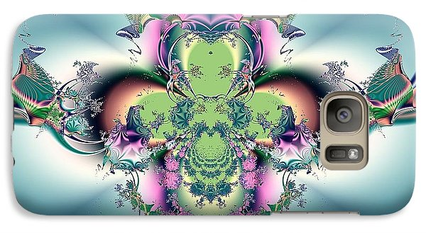 Galaxy Case featuring the digital art He Will Come Again In Glory by Luther Fine Art