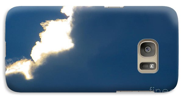 Galaxy Case featuring the photograph Head In The Clouds by Joy Hardee