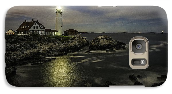 Head Light By Night Galaxy S7 Case