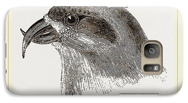 Head Of Crossbill Galaxy S7 Case by Litz Collection