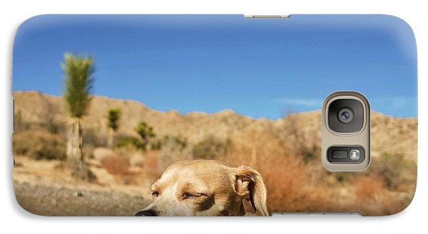 Galaxy Case featuring the photograph Headache by Angela J Wright