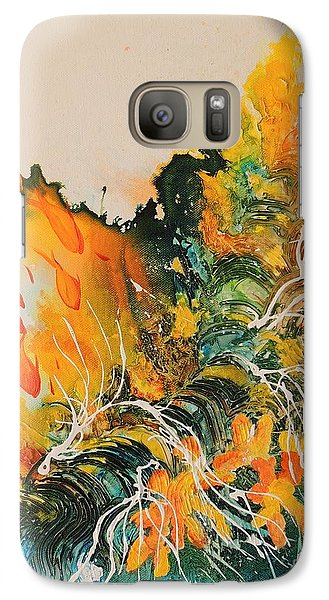 Galaxy Case featuring the painting Heading Down #2 by Lyn Olsen
