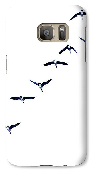 Galaxy Case featuring the photograph Heading North by Brian Davis