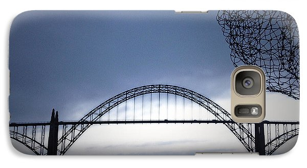 Galaxy Case featuring the photograph Heading Out by Gwyn Newcombe