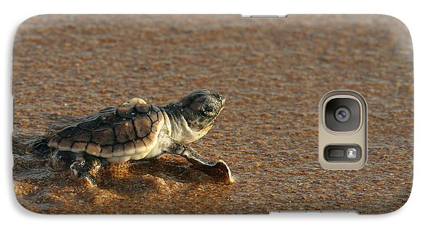 Galaxy Case featuring the photograph Heading Out To Sea by Paul Rebmann
