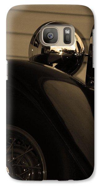 Galaxy Case featuring the photograph Headlamp by Steve Godleski