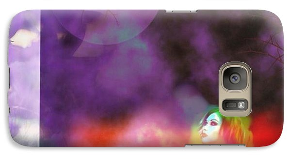 Galaxy Case featuring the digital art Headless  by Diana Riukas