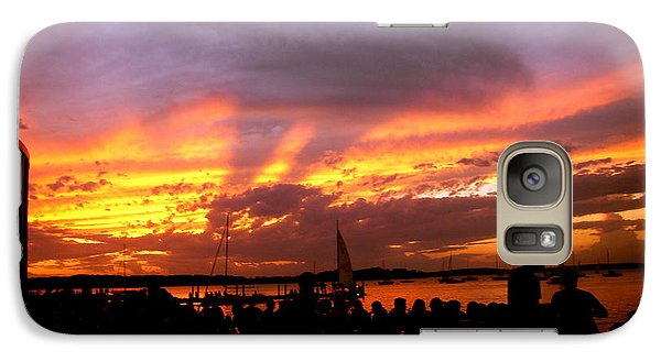 Galaxy Case featuring the photograph Headlights Of Sunset by Zafer Gurel